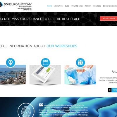 diseño de páginas web alicante: 3d neuroanatomy - coodex