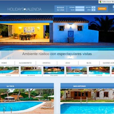 diseño de páginas web en alicante y valencia: holidays in valencia