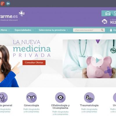 diseño páginas web alicante: operarme.es - coodex