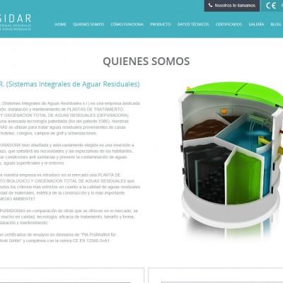 diseño de páginas web en alicante: sidar - coodex