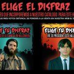 El hijo de la Tomasa y Puigdemont nominados a ser el disfraz estrella de este Halloween